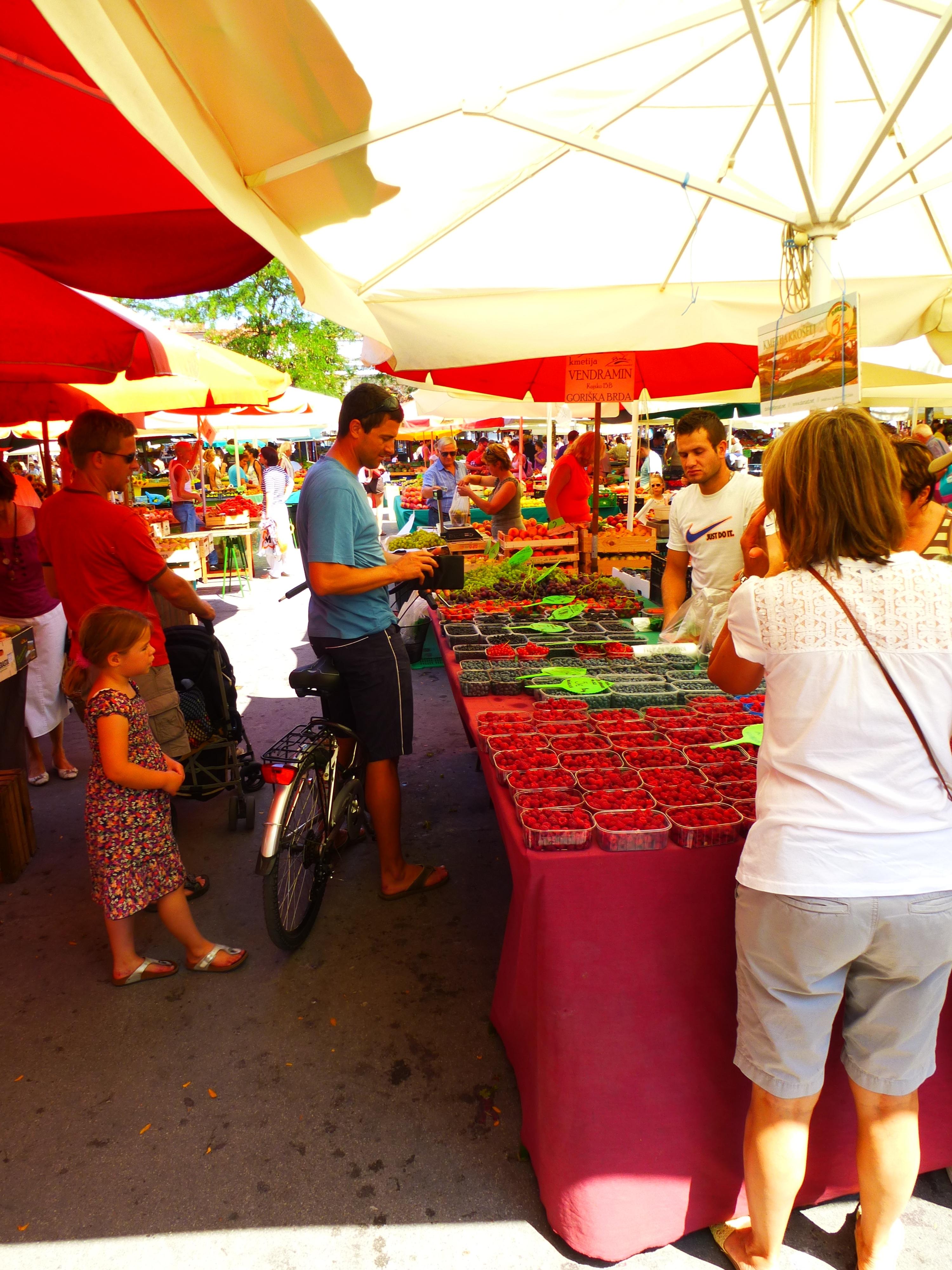 Ljubjana-marché